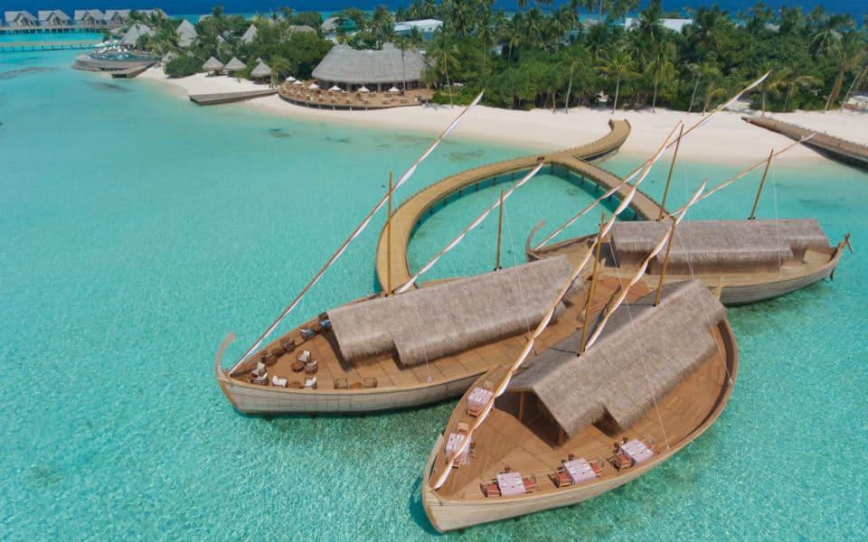 Milaidhoo Maldives Aerial