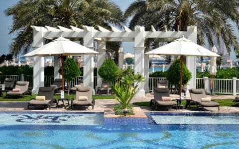 The St. Regis Abu Dhabi Nation Riviera Beach Club Swimming Pool
