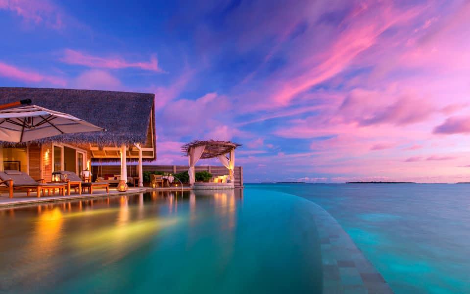 Milaidhoo Maldives Ocean Residence Sunset