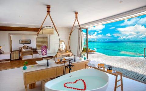 Milaidhoo Maldives Ocean Residence Romantic Bath