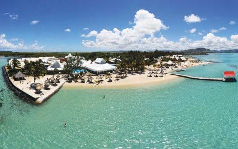 Preskil Beach Resort Aerial