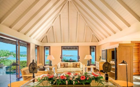 The Oberoi Beach Resort Royal Villa Living Room