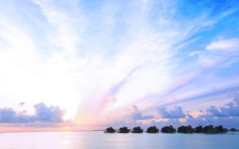 Six-Senses-Laamu-Water-Villa-Sunset