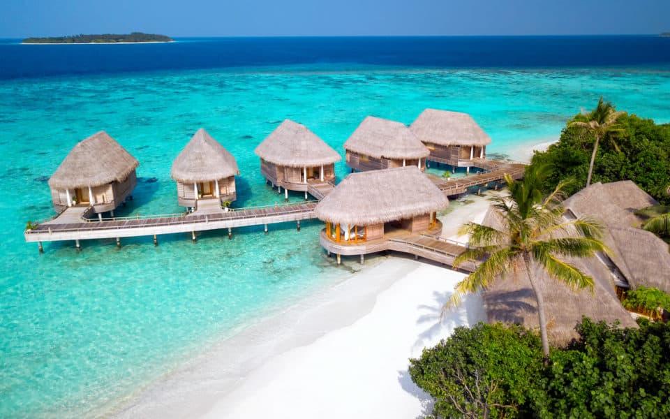 Milaidhoo Maldives Spa Aerial