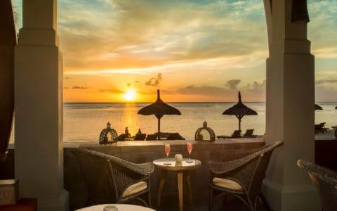 The Oberoi Beach Resort Sunset