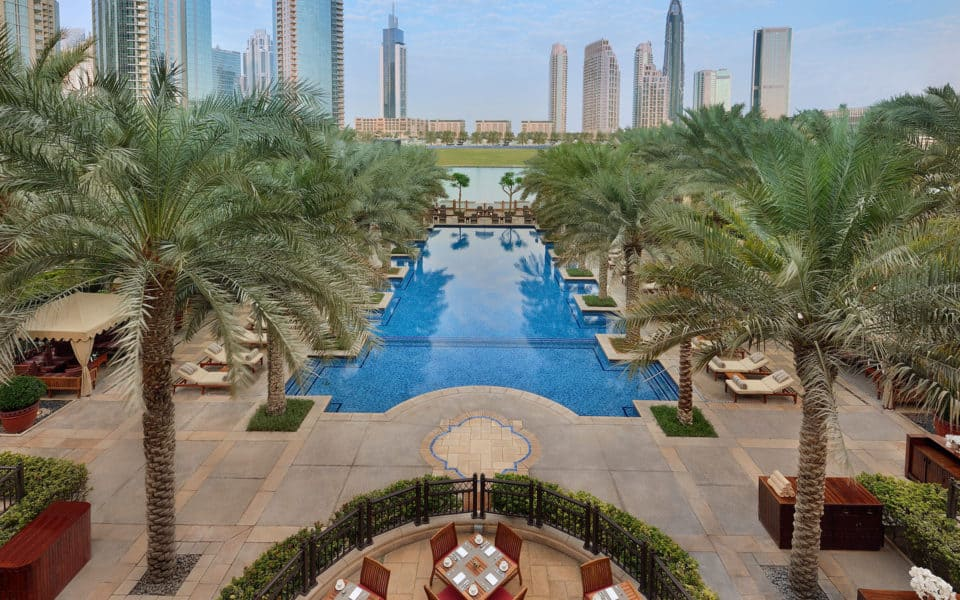 The-Palace-Downtown-Dubai---Outdoor-Swimming-Pool
