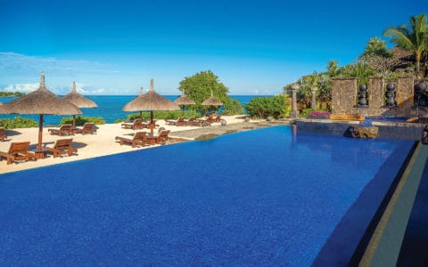 The Oberoi Beach Resort Turtle Bay Adult Only Pool