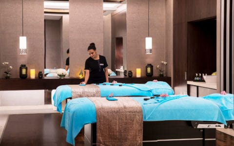 Saadiyat Rotana Zen the Spa Couples Treatment Room