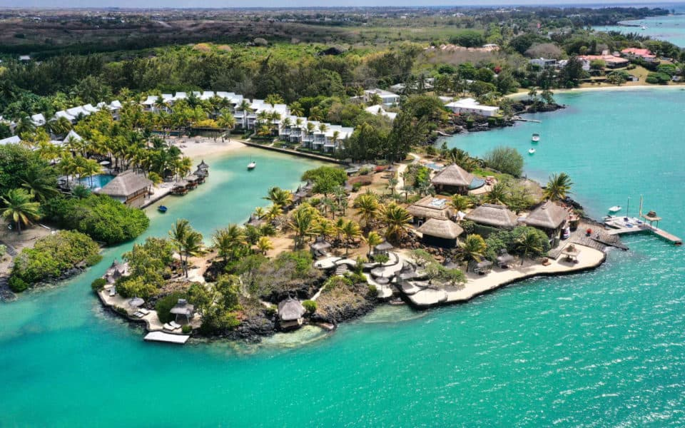Paradise Cove Boutique Hotel Aerial