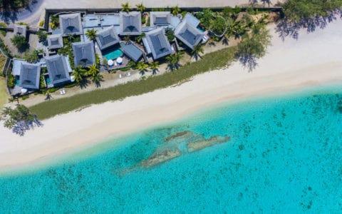 St. Regis Mauritius Aerial View